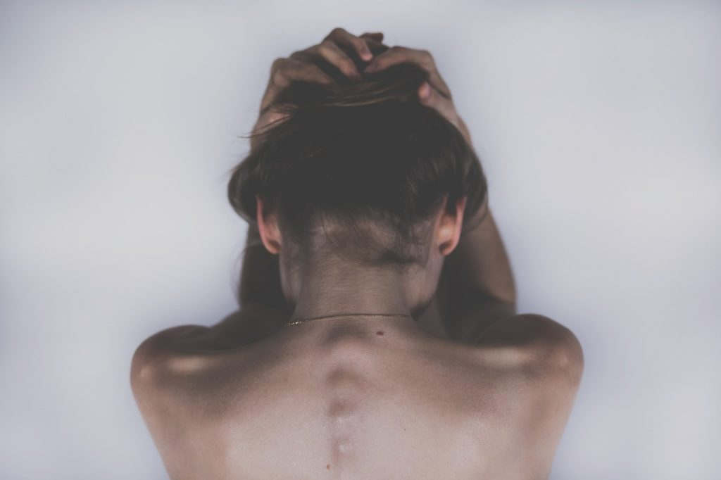 עמוד שדרה של אישה