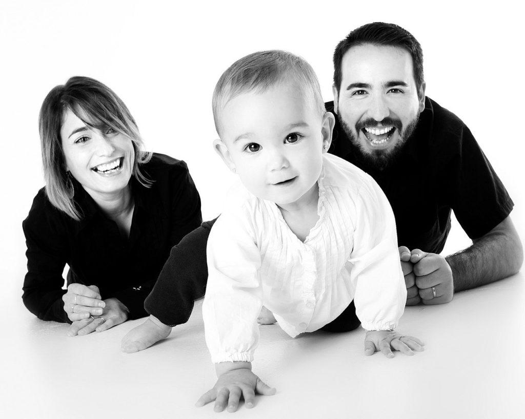 הורים ותינוק