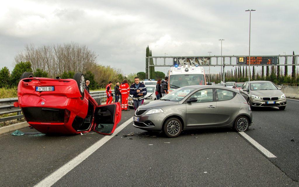 התנגשות בכביש מהיר