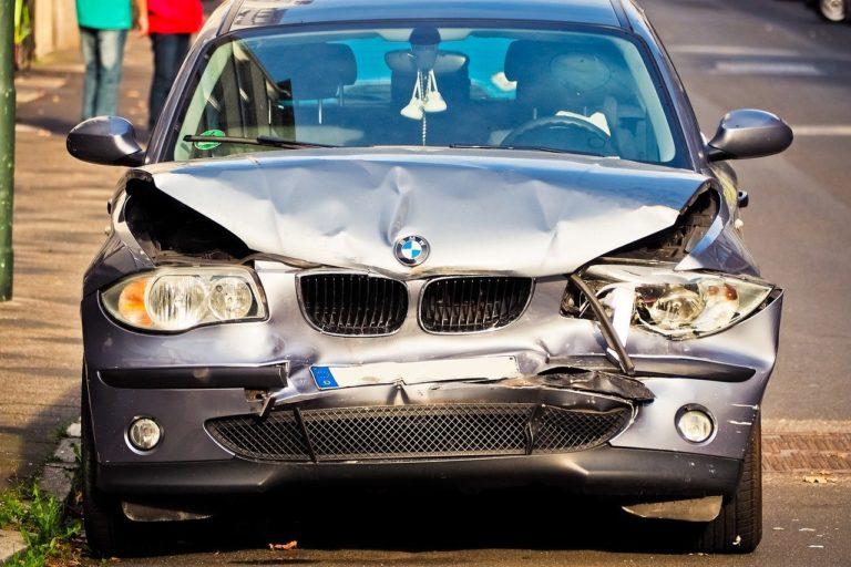 רכב לאחר תאונה